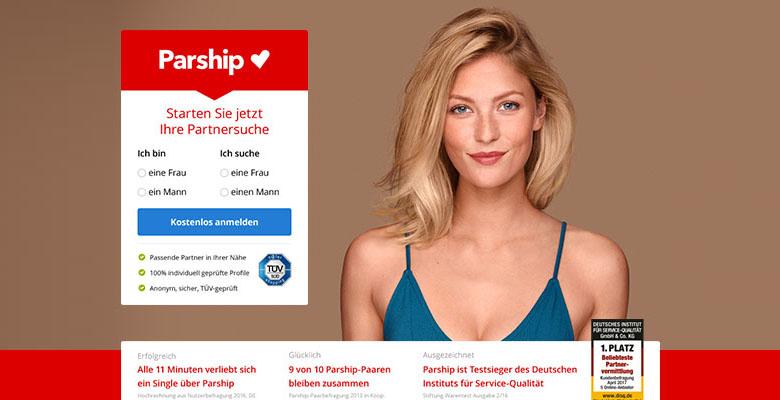 Werbung neu parship Parship Werbung